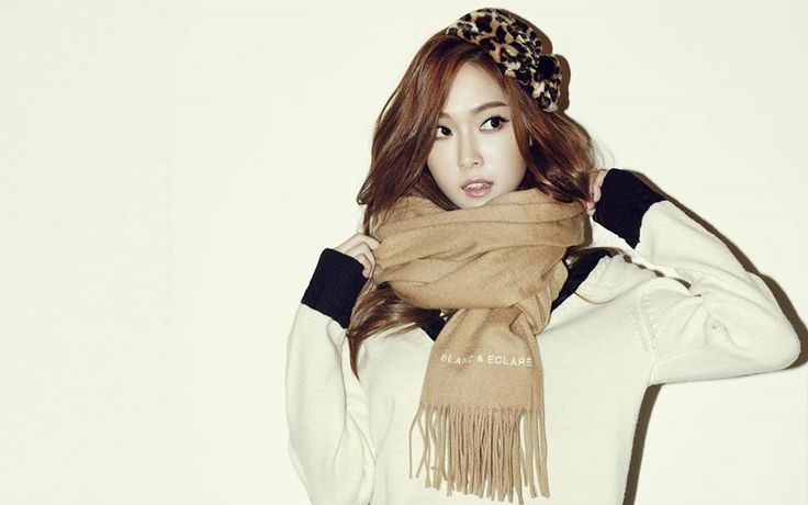 Jessica Jung for Blanc & Eclare Winter 2014 Ad