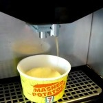 """[VIDEO] Mashed potato from a """"Slurpee"""" machine? - What is the world coming to lol"""