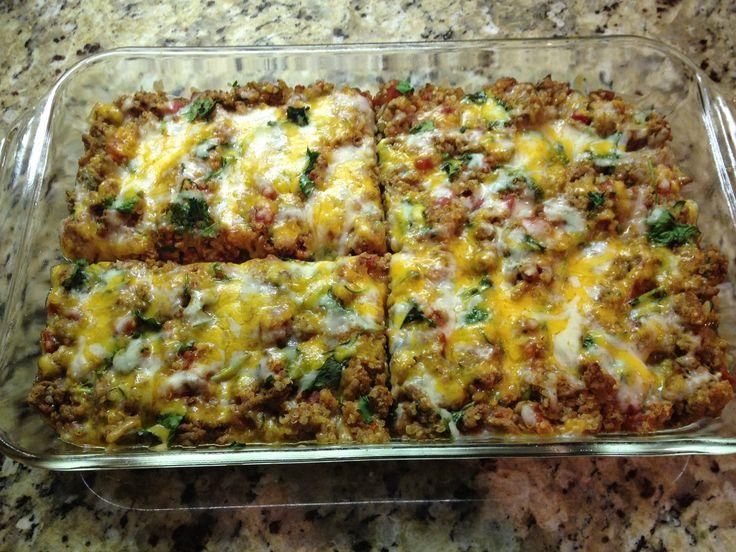 21 day Fix Family Dish Recipe Taco Bake Casserole