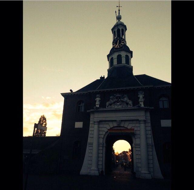 Big door. Leiden, Holland