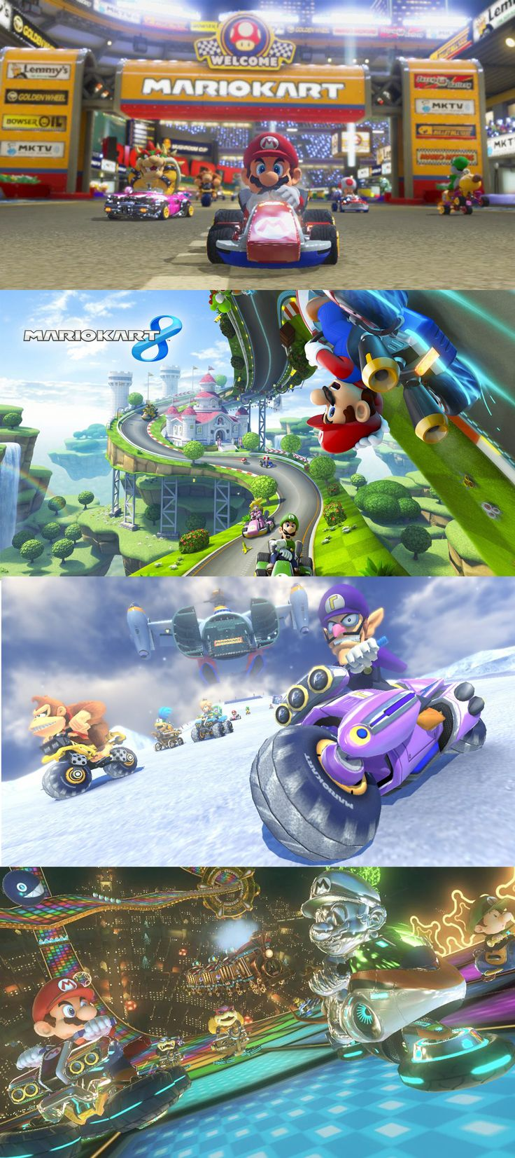 'Mario Kart 8' Review: Life In The Fast Lane. Mario Kart 8 may be my favorite entry in the long-running franchise, at least since the original games. Minus one very big quibble, which I'll get to shortly, this is the tightest, most frenetic, and certainly most gorgeous of the Mario Kart games, and it's yet another excellent release for Nintendo's struggling Wii U.