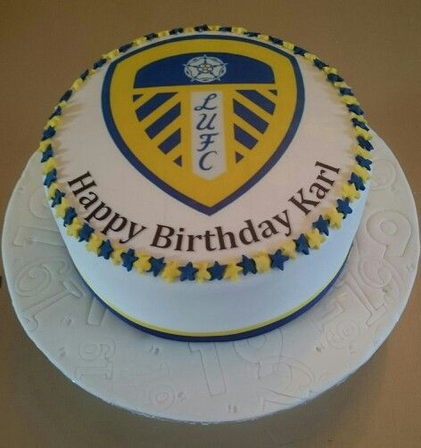 Cake Decorating Job Leeds : 21 best leeds utd images on Pinterest Leeds united, Cake ...