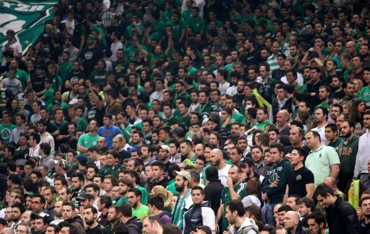 Panathinaikos Fans  Panathinaikos BC Vs Maccabi Tel Aviv B.C, Euroleague Play-Off