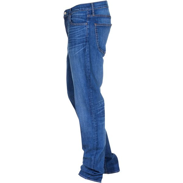 KORAL LOS ANGELES Slim 12 Months Shade Stretch slim fit jeans ($300) ❤ liked on Polyvore featuring men's fashion, men's clothing, men's jeans, mens slim cut jeans, mens slim fit stretch jeans, mens low rise stretch jeans, mens stretchy jeans and mens slim fit jeans