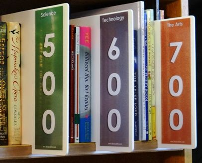 Non Fiction Shelf Signs - Non Fiction Shelf Markers | All your Library Signange needs available from LibrarySkills.com
