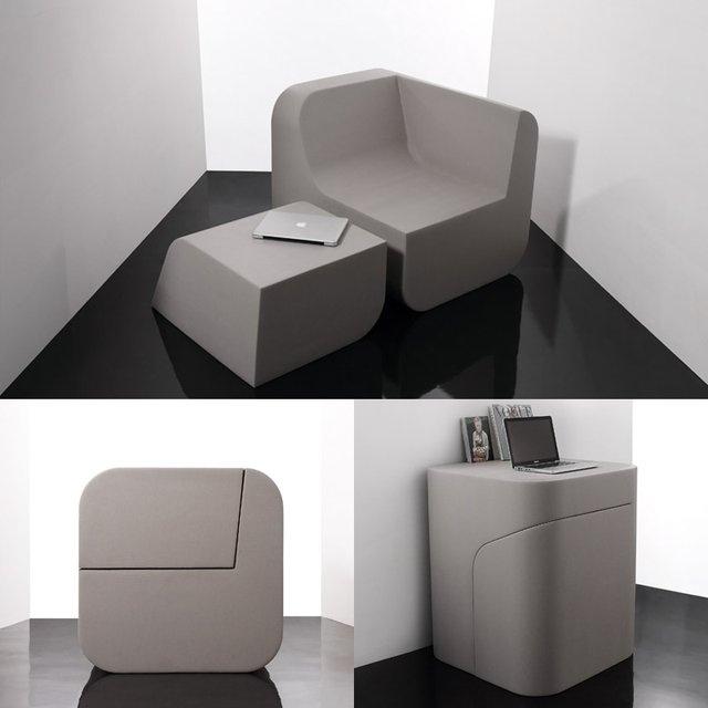 Charming Duel Cut Furniture By Kitmen Keung