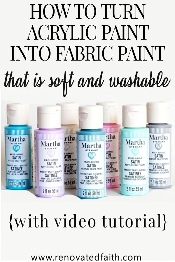 How To Make Acrylic Paint On Fabric Permanent The Best Fabric Paint In 2020 Best Fabric Paint Acrylic Paint On Fabric Fabric Wall Art