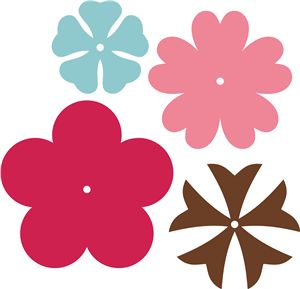 Flowers Silhouette Online Store!