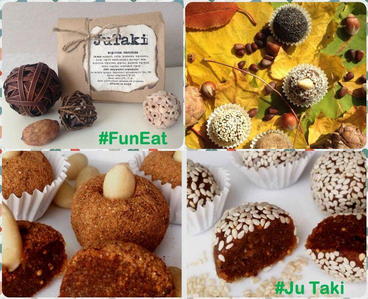 Среда - экватор рабочей недели! Чтобы сделать его еще более приятным - приходим на тренировку #FunFit! Всех пришедших сегодня ждет драйвовое занятие, имбирный чай и сюрприз - ПОЛЕЗНЫЕ конфеты JuTaki, в составе которых только натуральные ингредиенты, а именно: 5 видов сухофруктов и 3 вида орехов! #zumba #zumbavkieve #zumbaskseniey #fitness #фитнесвудовольствие #FunFit #стройноетело #другойфитнес #фитнес #зумба #долойунылыетренировки #JuTaki #Artevilla 