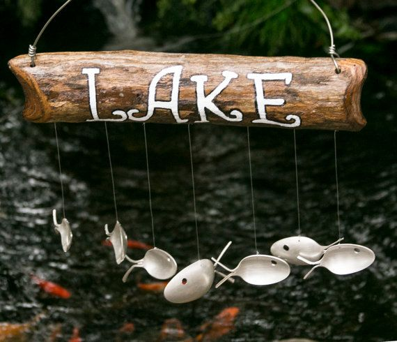 Lake Sign, Rustic Primitive Wooden Yard Sign ,Garden Decoration ,Custom Family name Sign , House Numbers, Typography, Cottage, Farm,  Rustic Lake Sign