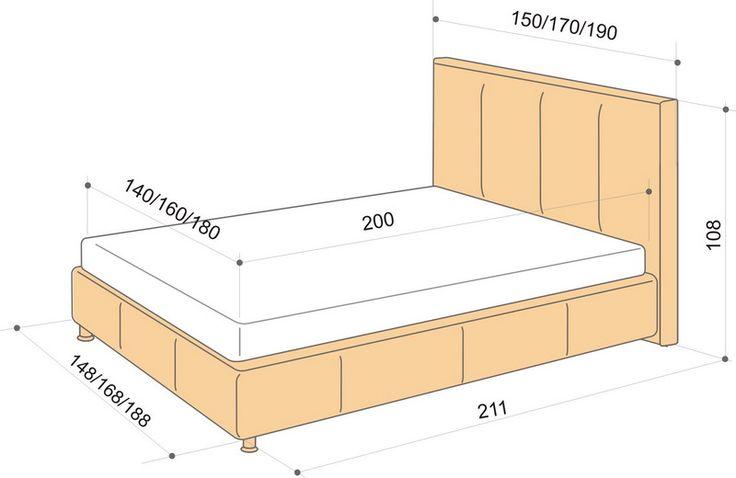 размер кровати двуспальной: 19 тыс изображений найдено в Яндекс.Картинках