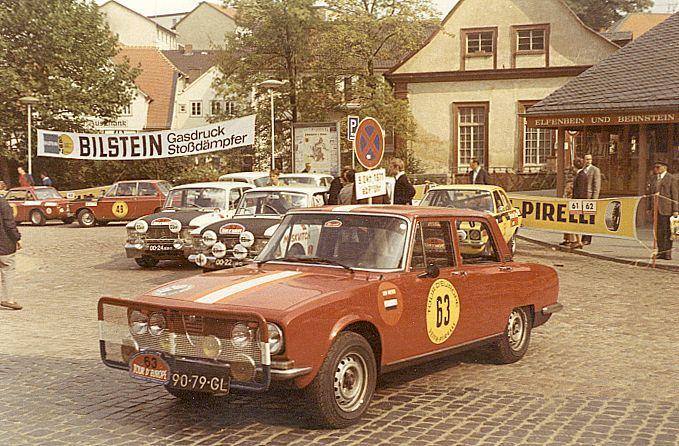 Tour d'Europe Rally 1971 Start in Erbach (D)