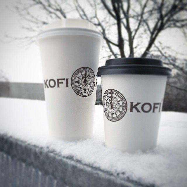 Zima je tu. V #brno snad jen na chvíli. ❄️❄️❄️❄️❄️❄️❄️❄️❄️❄️❄️❄️ #kofikofi ☕️☕️☕️