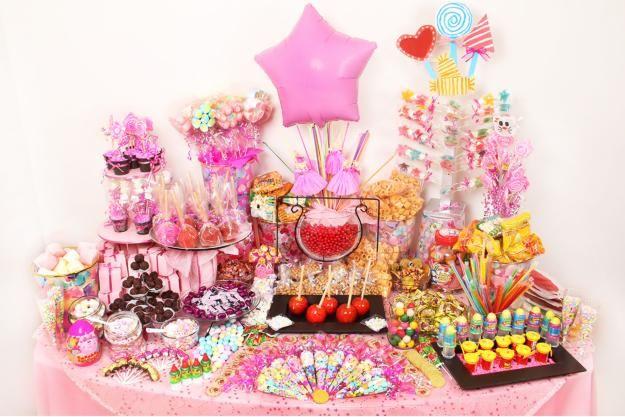 Mesa para ni a mesa de dulces pinterest mesas - Mesas dulces para ninas ...