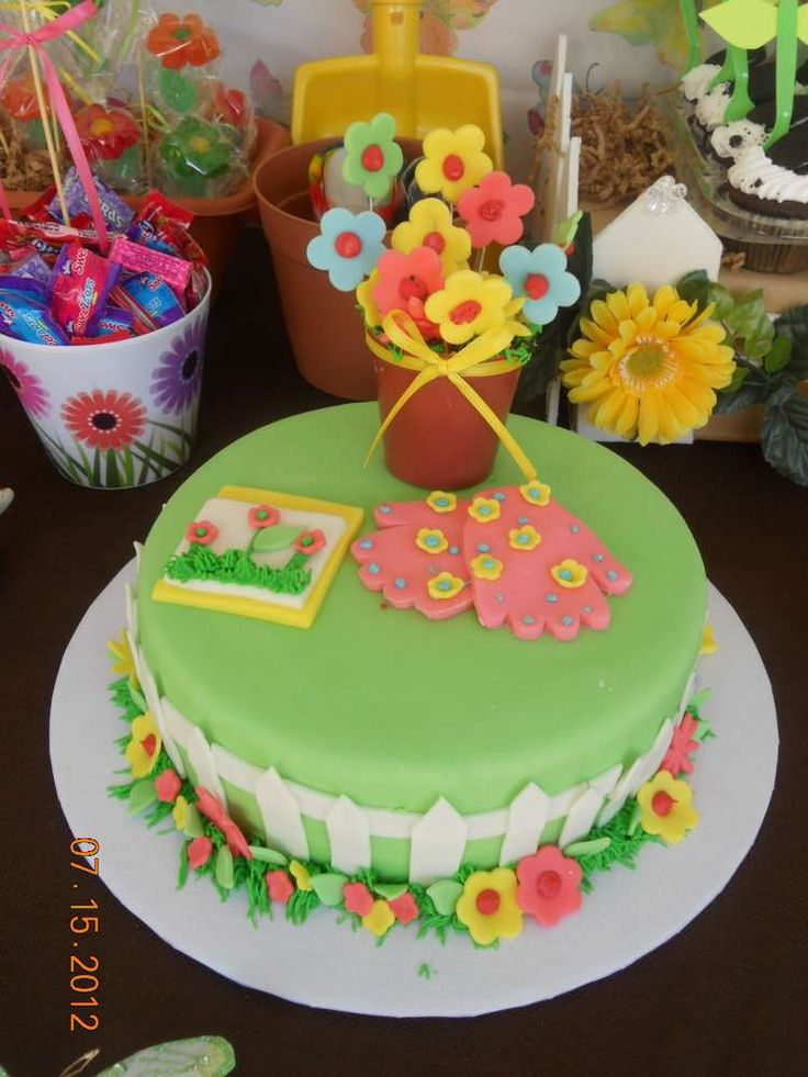 Cakes Garden Garden Party By Scrib9877 48 Other Ideas To Discover On Pint