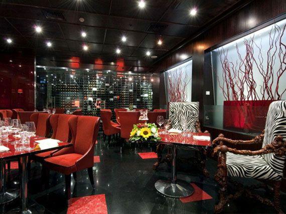 Best steak house interiors images on pinterest