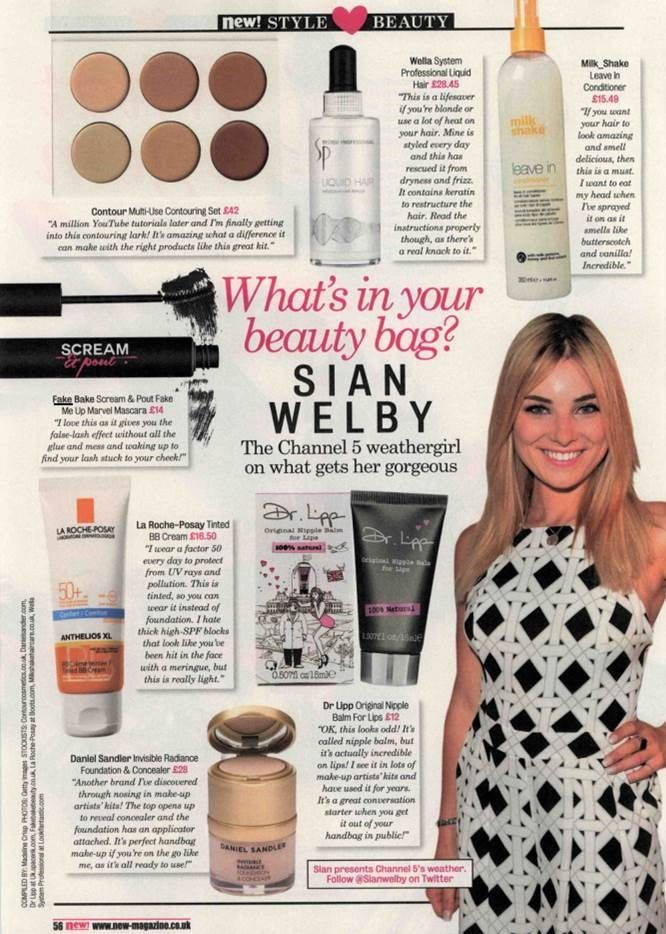 Fake Bake Beauty Scream & Pout Fake Me Up Marvel Lash Mascara is a key feature in Sian Welby's make-up bag.