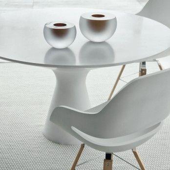 Table design Blanco de Zanotta par Jacopo Zibardi - Superstore.fr