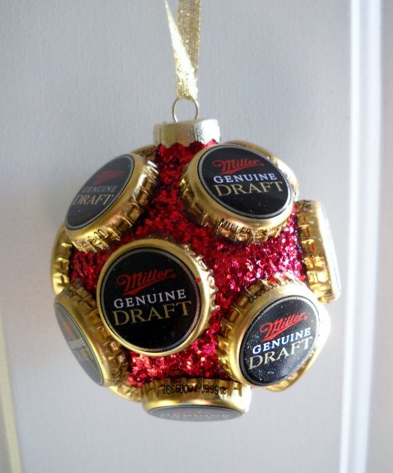 Christmas beer bottle cap perfect for Christmas! Already planning ahead!