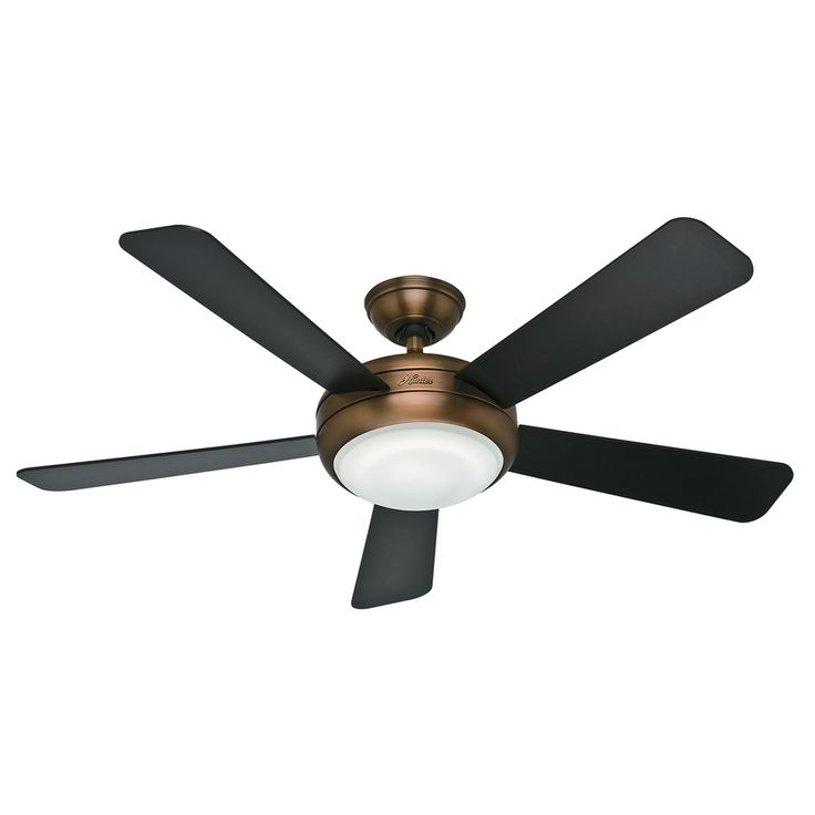 hunter flush mount ceiling fan with light and remote 52 outdoor fans without lights contemporary style