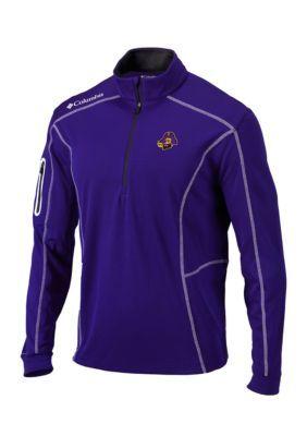 Outdoor Custom Sportswear Men's Ecu Shotgun 1/4 Zip - Purple - 2Xl