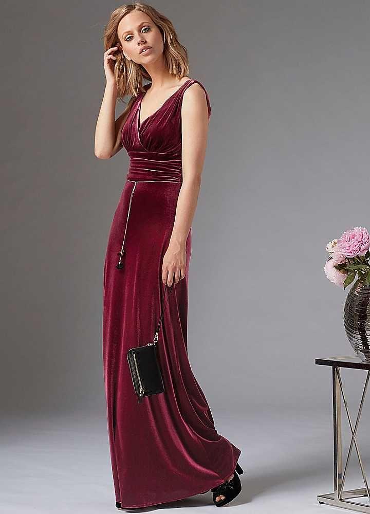 new product f952f 77831 Velvet Evening Dress by Guido Maria Kretschmer | Velvet ...
