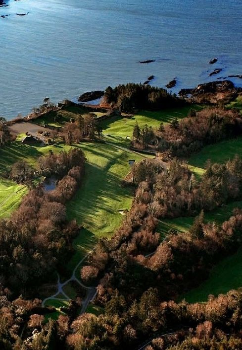 Kenmare Bay is a stunning backdrop for a round of golf at Parknasilla Resort