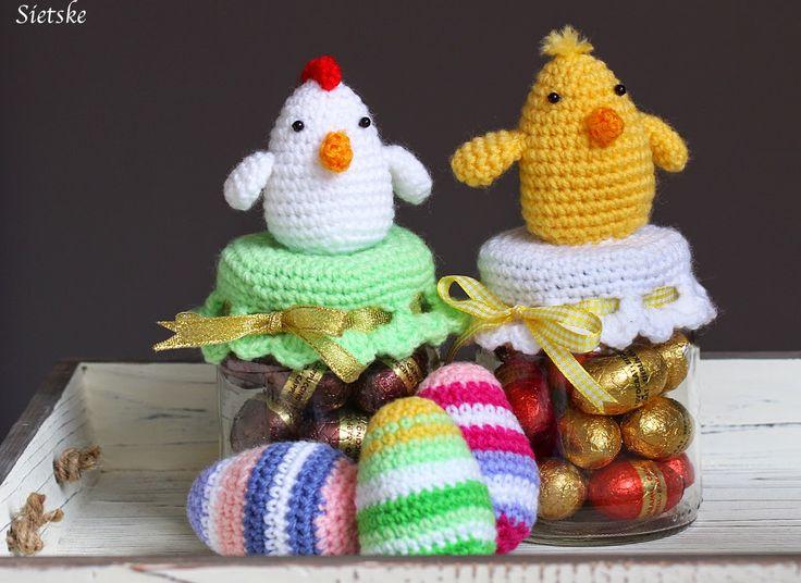 Hobby di Sietske: per le uova di Pasqua