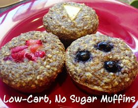 Soup on the Rocks: Tasty Tuesday- Low-Carb, No Sugar Muffins