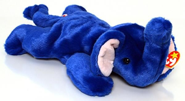 15 most valuable Beanie Babies including Peanut, Humphry, Squealer, Legs and Spot