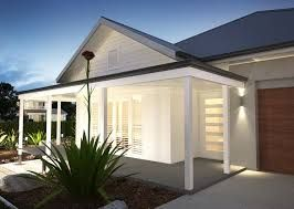 Image result for low set coastal house facade queensland