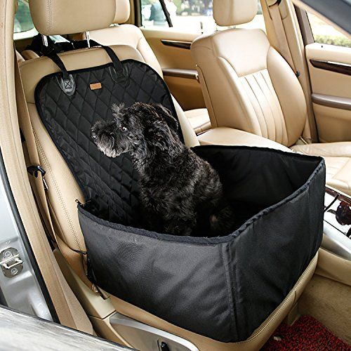 Dog Car Seat Cover Pet Booster Seat Waterproof 2 in 1 Dog…