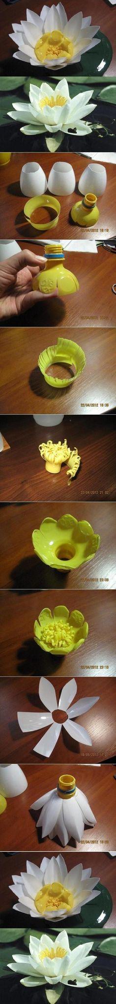 Plastic bottle flowers                                                                                                                                                                                 More