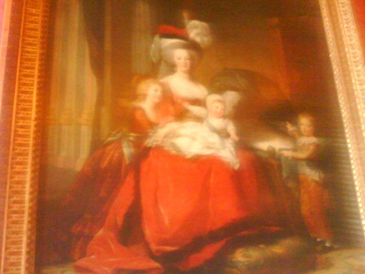 Queen Marie Antoinette of France, the Dauphin Louis Joseph, her Daughter Madame Royale and her son Louis Charles