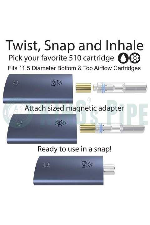 PCKT Vapor - PCKT One Plus 510 Vape Pen for Oil Cartridges