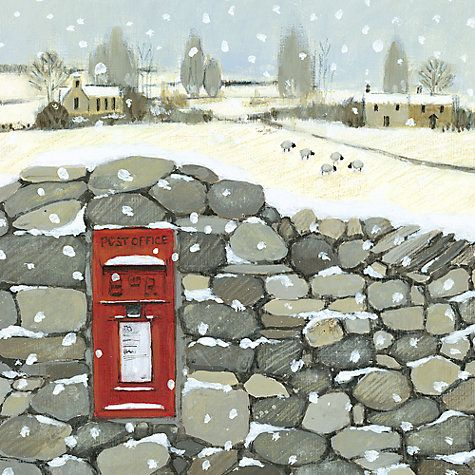 Buy Art Marketing Country Postbox Charity Christmas Cards, Pack of 6 Online at johnlewis.com