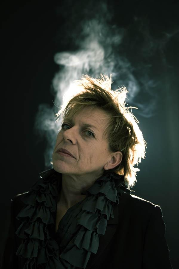 Connie Palmen: Photo by Photographer Krijn van Noordwijk - photo.net