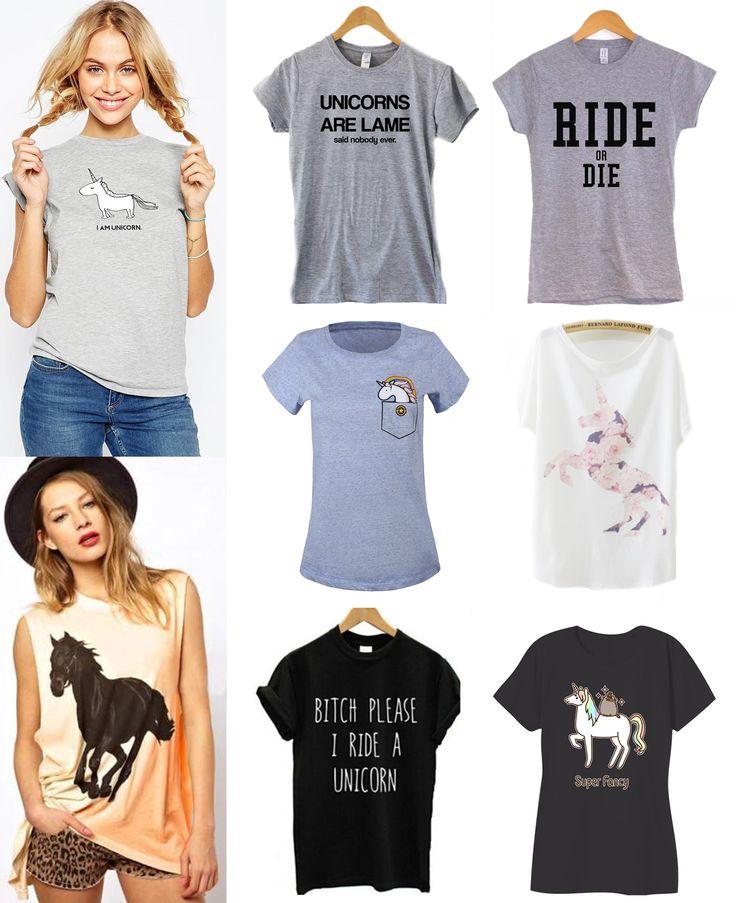 ·Colores, Tallas y Precio según el modelo· #Shalala #Ropa #Accesorios #Camiseta #Remera #Casual #Negro #Unicornio #Color #Gris #Caballo