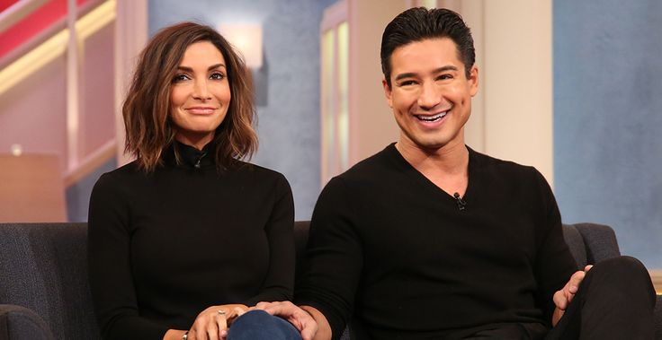 Mario Lopez and wife Courtney Mazza guests on the Meredith Vieira show 1-20-15