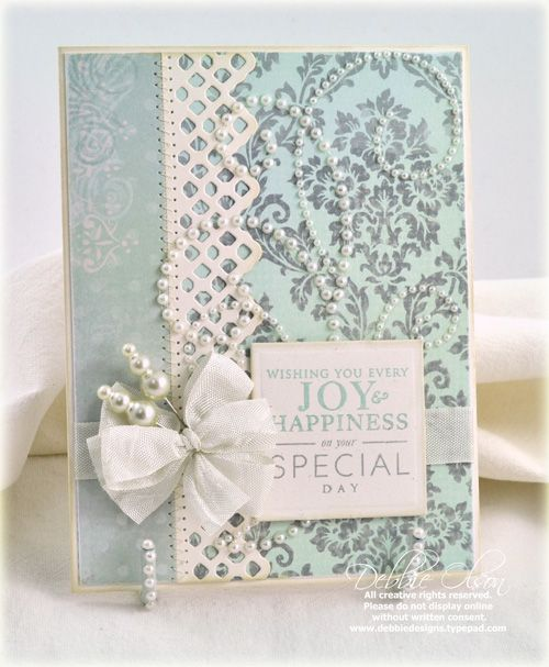 pretty wedding card!