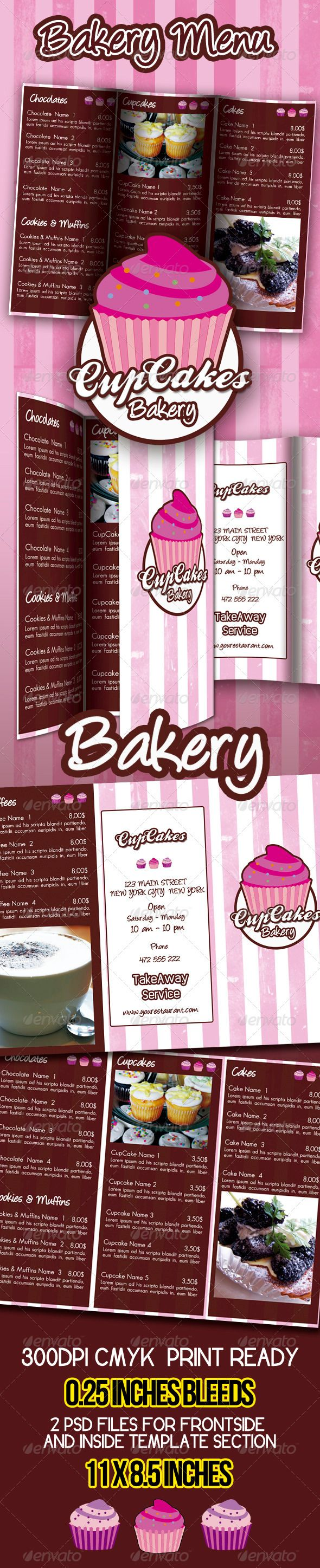Best 25+ Bakery menu ideas only on Pinterest | Cupcake flavors ...