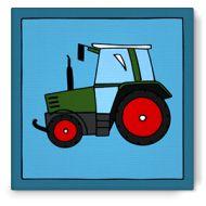 Bibado.nl - kinderschilderij traktor fendt, creator: Arjan Ceelen