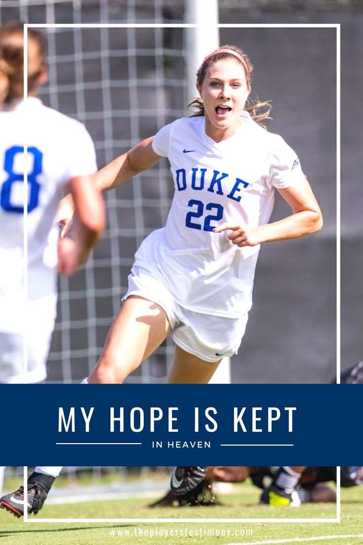 My Hope Is Kept In Heaven Christian Athletes Athlete Quotes Athlete
