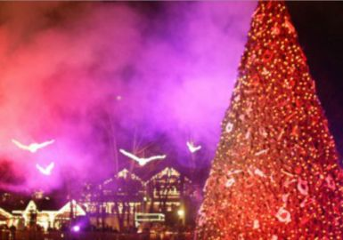 Smoky Mountain Christmas at Dollywood in Pigeon Forge, TN
