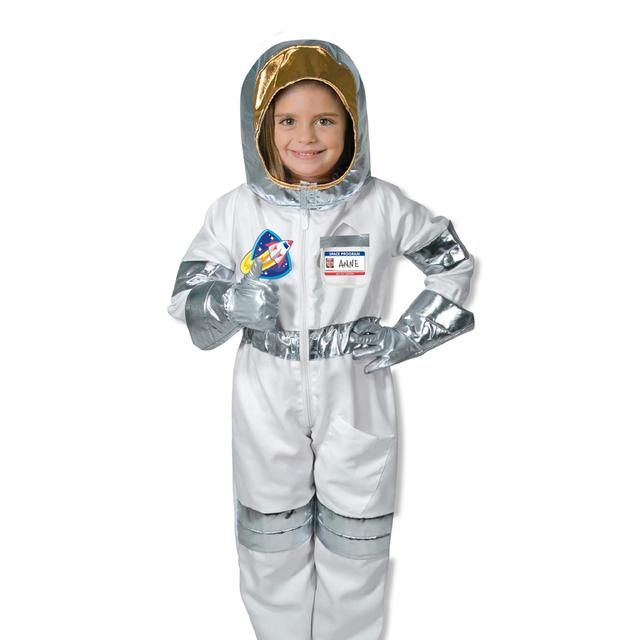 Melissa & Doug Astronaut Fancy Dress Costume 3+ from Ocado