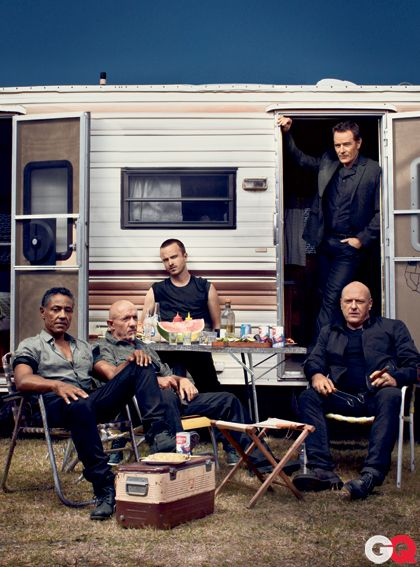 GQ's badasses of the year: the men of Breaking Bad.