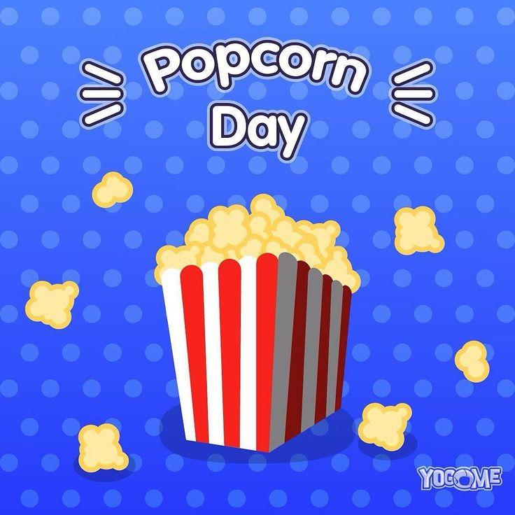 Enjoy The Popcorn Day!  #popcornday #popcorn #popcorntime #popcornlover #popcornbox #popcornbag #popcornmaker #popcornparty #popcornopolis #cinema #movie #havingfun #food #treats #nationalpopcornday #nationalpopcornday