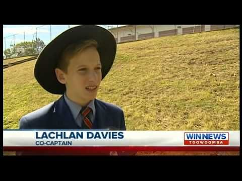 Downlands AFL on WIN NEWS