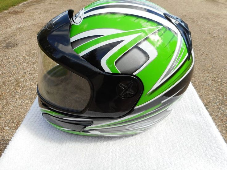 Snell CKX DOT M2000 Full Face Helmet with Vents - size medium #CKX