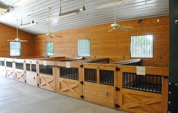 Palomina Lane Stable Mini Stalls